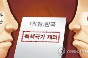 Hàn Quốc chính thức thảo luận việc loại Nhật Bản khỏi 'Danh sách Trắng'