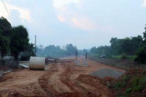 Nhà thầu 'quen' tại Vĩnh Phúc và con đường gần 200 tỷ 'lỡ hẹn' ngày về đích