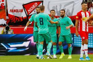 Hazard ghi bàn đầu tiên, Real Madrid thắng sít sao trước Salzburg