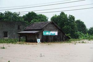 Đắk Lắk: Mưa lớn làm 1 người chết và hàng trăm ngôi nhà bị ngập