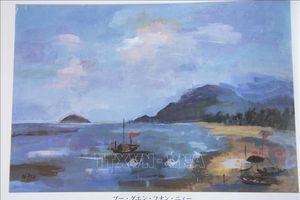Tranh của học sinh Việt Nam được triển lãm tại Bảo tàng Mỹ thuật quốc gia Nhật Bản