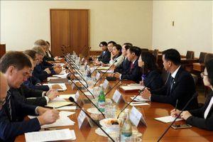 Bộ trưởng Bộ Nội vụ Lê Vĩnh Tân thăm, làm việc tại Liên bang Nga