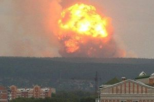 Nổ tại căn cứ quân sự Nga khiến 9 người thương vong