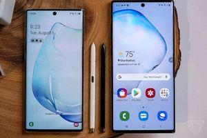 Samsung ra mắt Galaxy Note 10 và Note 10+: Màn hình 'đục lỗ', hỗ trợ 5G, giá từ 949 USD