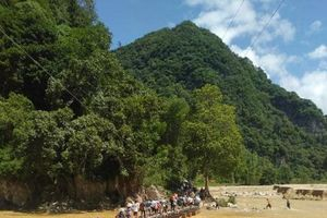 Thanh Hóa: Người dân bản Sa Ná mơ ước một cây cầu dân sinh