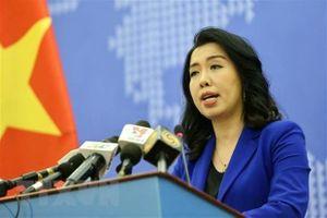 Việt Nam gửi công hàm phản đối việc Trung Quốc ngang nhiên tập trận tại Hoàng Sa