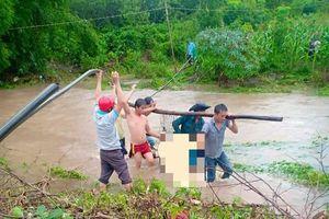 Mưa lớn khủng khiếp ở Đắk Lắk, người đàn ông bị nước cuốn thiệt mạng