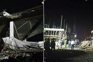 Vụ sập công trình xây cây xăng tại Hải Phòng: 9 người bị thương, 1 nạn nhân tử vong