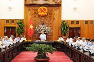 Thủ tướng Chính phủ chủ trì họp Thường trực Tiểu ban Kinh tế - Xã hội Ðại hội XIII của Ðảng