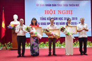Ngành GD&ĐT Thừa Thiên Huế đón nhận bằng khen xuất sắc về đổi mới sáng tạo trong dạy học