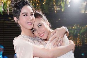 Đàm Thu Trang mới cưới được 10 ngày, Diệp Lâm Anh đã đề cập với bạn thân chuyện sinh con