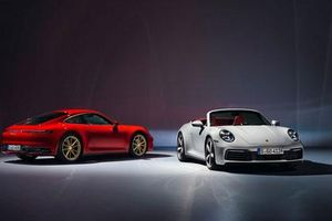 Cận cảnh Porsche 911 Coupe và 911 Convertible vừa ra mắt