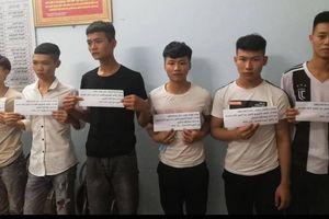 Bắt giữ 6 đối tượng chặn đường hành hung nhóm công nhân tại Bắc Giang