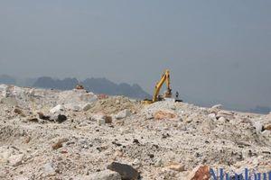 Cận cảnh các hoạt động 'đào núi, lấp biển' xây dựng khu đô thị rộng 178 ha ở Vân Đồn