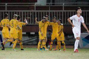 Clip: 3 bàn thắng dễ dàng của Australia vào lưới U18 Việt Nam