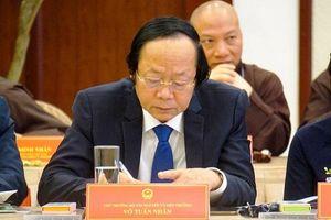 Thủ tướng Chính phủ Nguyễn Xuân Phúc: Mong muốn chức sắc, chức việc tôn giáo tiếp tục đồng hành cùng Chính phủ