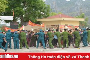 TP.Thanh Hóa: Hoàn thành diễn tập chiến đấu khu vực phòng thủ xã, phường cụm 4 năm 2019