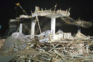 Sập giàn giáo ở Hải Phòng: Công trình ở cây xăng xây dựng trái phép