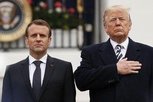 Tổng thống Mỹ chỉ trích Pháp đưa ra tín hiệu không nhất quán với Iran
