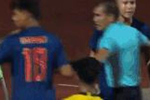 Báo Thái Lan ví màn hỗn chiến của đội U15 như một trận boxing