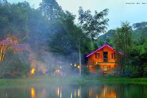 Khu nghỉ dưỡng Ma Rừng Lữ Quán tan hoang sau cơn lũ quét