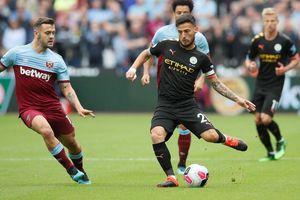 West Ham - Man City 0-5: Sterling ghi hattrick giúp City lên đầu bảng