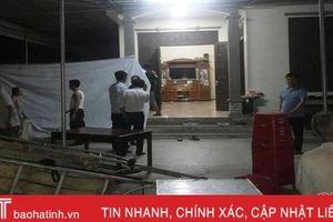 Đi làm đồng, một phụ nữ ở Hà Tĩnh bị sét đánh tử vong