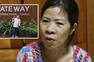 Người đưa đón bé lớp 1 trường Gateway: 'Lúc đó tôi run hết chân tay, cầu trời khấn phật cháu thở lại'