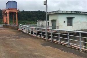 Thủy điện Đắk Sin 1 ngừng hoạt động do bị sạt lở đất đá