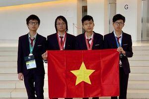Việt Nam đứng thứ 4 kỳ thi Olympic Tin học quốc tế lần thứ 31