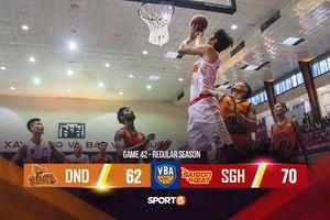 Richard Nguyễn trở lại, Saigon Heat chính thức bước vào vòng Playoffs sau chiến thắng trước Danang Dragons