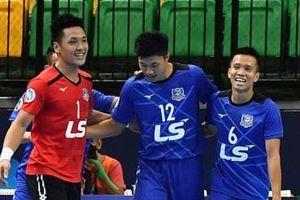 Thái Sơn Nam vào tứ kết giải futsal các CLB châu Á