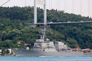 Tàu khu trục Mỹ tiến vào Biển Đen lần thứ 6 kể từ đầu năm