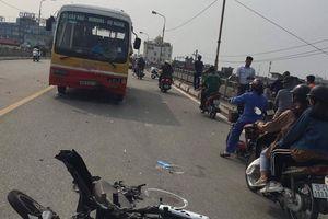 Xe buýt lấn làn gây tai nạn giao thông, 2 người thương vong