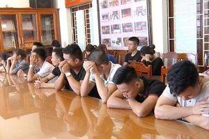 Bắt quả tang 18 thanh niên tổ chức tiệc ma túy tại quán karaoke