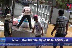 Mưa lũ gây thiệt hại nặng nề tại Đồng Nai