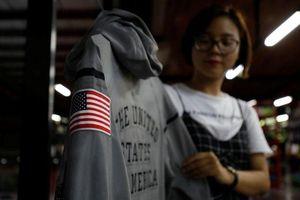 Đồng phục đội tuyển Olympic Mỹ 'made in Vietnam'