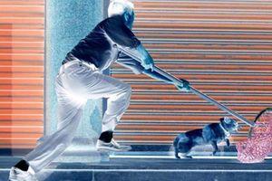 Người dân vây bắt đôi tình nhân trộm chó