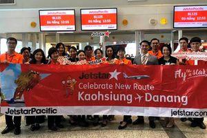 Jetstar Pacific khai trương đường bay thẳng giữa Đà Nẵng - Cao Hùng (Đài Loan)