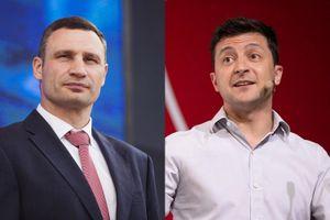 Tổng thống Zelensky muốn KO Klitschko 'anh', cựu quyền thủ Ukraine vẫn cố giữ đai 'Thị trưởng Kiev'