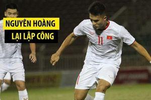 HLV U.18 Singapore khen ngợi chàng trai cao kều Võ Nguyên Hoàng