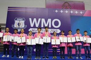 Việt Nam giành 12 huy chương tại cuộc thi Toán học WMO 2019