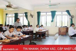 Nhiều trường học ở Hà Tĩnh khởi động sớm năm học mới