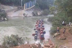 Lật bè trên sông Bắc Vọng - Cao Bằng, 3 người bị nước cuốn mất tích