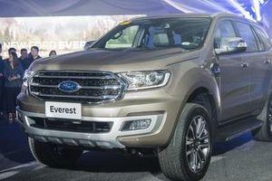 Ford Everest 2020 giá từ 884 triệu đồng có những cải tiến gì?