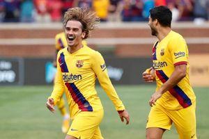 'Bom tấn' 120 triệu euro Antoine Griezmann đã biết ghi bàn cho Barcelona