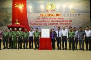 Nhà máy thủy điện Lai Châu: Công trình trọng điểm về an ninh quốc gia