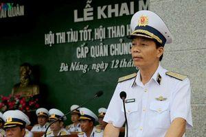 Quân chủng Hải quân khai mạc Hội thi tàu tốt, Hội thao huấn luyện tàu