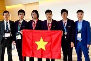Việt Nam giành 2 Huy chương Vàng tại Olympic Tin học quốc tế 2019