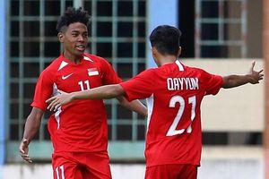 Highlights U18 Singapore 1-0 U18 Campuchia